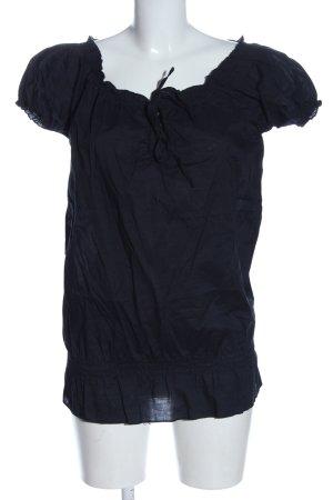 Esmara Kurzarm-Bluse blau Casual-Look