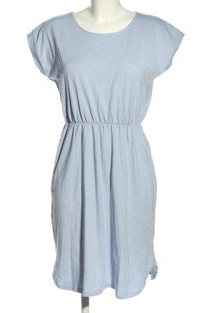 Esmara Kurzarmkleid blau meliert Casual-Look
