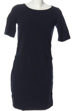 Esmara Kurzarmkleid blau Business-Look