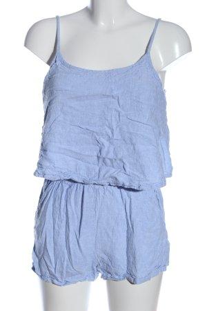 Esmara Kurzer Jumpsuit blau Casual-Look