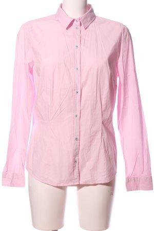 Esmara Langarm-Bluse pink Business-Look