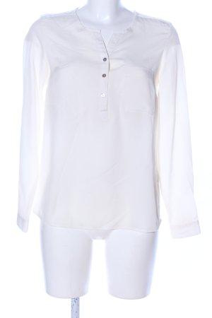 Esmara Langarm-Bluse weiß Casual-Look