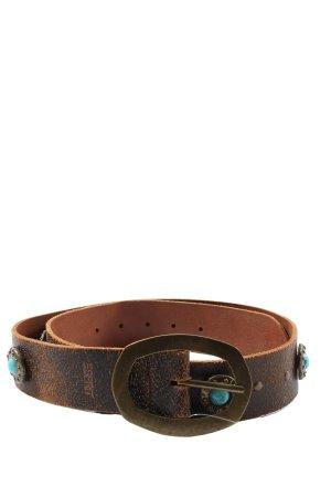 Esmara Cinturón de cuero de imitación marrón look Street-Style