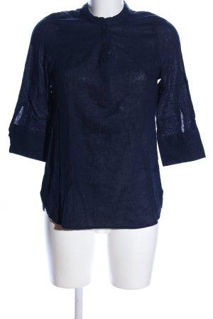 Esmara Leinenbluse blau meliert Casual-Look