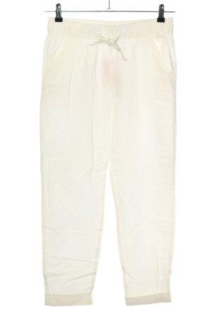 Esmara Pantalón de lino blanco look casual
