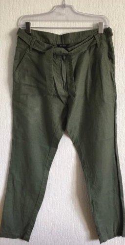 Esmara Pantalón de lino caqui