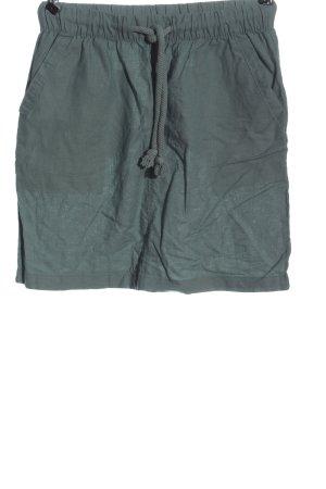 Esmara Lniana spódnica khaki W stylu casual