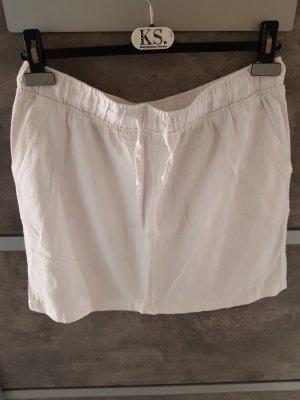 Esmara Lniana spódnica biały