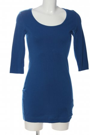 Esmara Long-Bluse blau Casual-Look