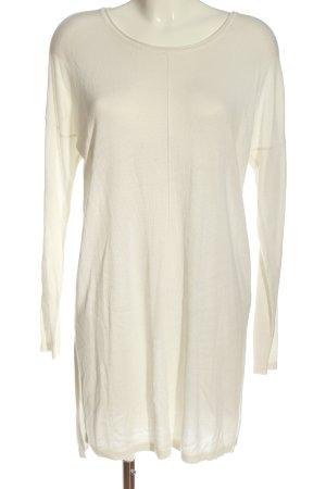 Esmara Abito maglione bianco sporco stile casual