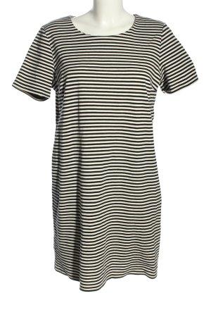 Esmara Kurzarmkleid schwarz-weiß Allover-Druck Casual-Look