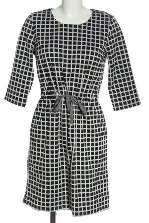 Esmara Midikleid schwarz-weiß Streifenmuster Casual-Look
