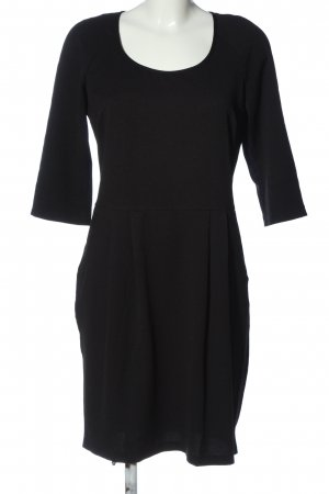 Esmara Vestido elástico negro look casual