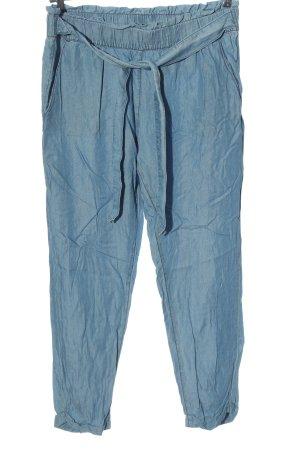 Esmara Paperbag-Hose blau Casual-Look