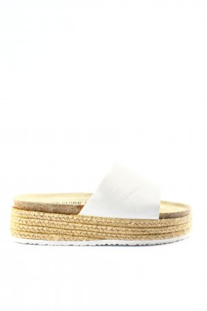 Esmara Plateauzool sandalen wit-room casual uitstraling