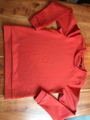Esmara Długi sweter bez rękawów ciemnoczerwony