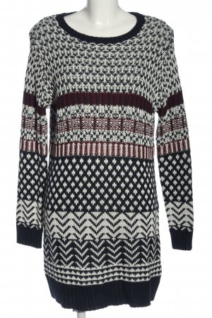 Esmara Sweaterjurk Patroon-mengeling casual uitstraling