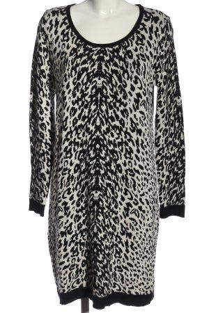 Esmara Abito maglione nero-bianco stampa integrale stile casual