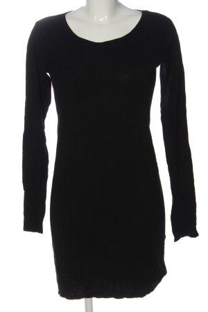 Esmara Vestido tipo jersey negro look casual