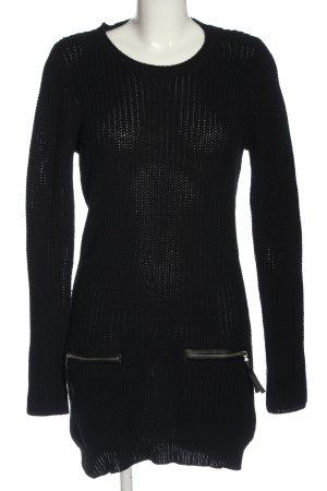 Esmara Sweaterjurk zwart casual uitstraling