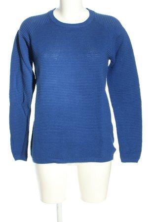 Esmara Rundhalspullover blau Casual-Look