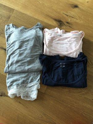 Esmara Schlafanzug grau M