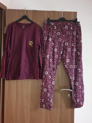 Esmara Pyjama purple-violet