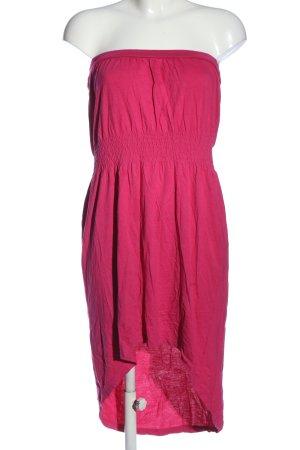Esmara schulterfreies Kleid pink Casual-Look