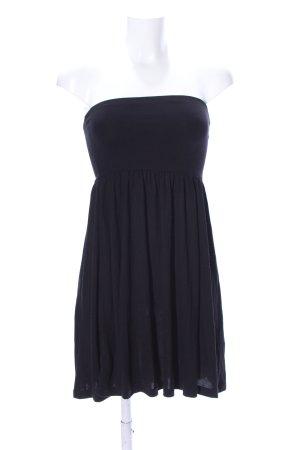 Esmara schulterfreies Kleid schwarz Casual-Look