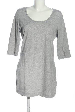 Esmara Shirtkleid hellgrau meliert Casual-Look