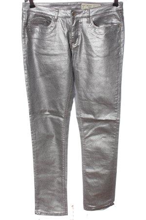 Esmara Jeans slim fit argento stile casual