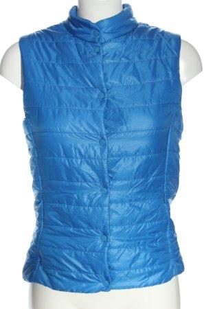 Esmara Chaleco acolchado azul estampado acolchado look casual