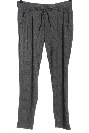 Esmara Jersey Pants light grey-black check pattern casual look