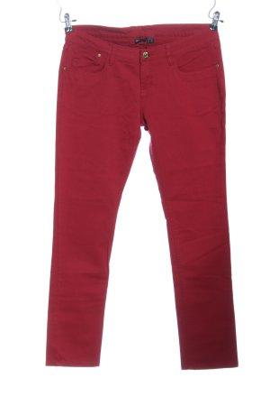 Esmara Straight-Leg Jeans rot Casual-Look