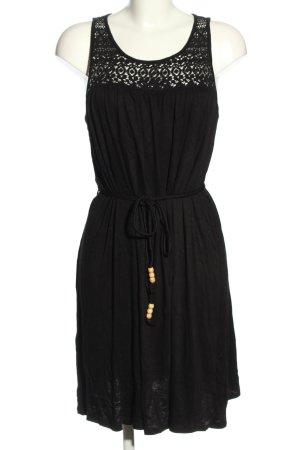 Esmara Vestido playero negro look casual