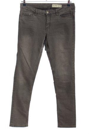 Esmara Stretch Jeans brown flecked casual look