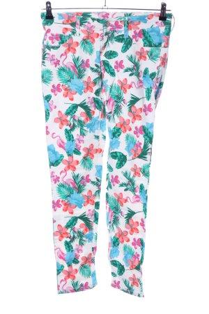 Esmara Stretch Jeans Animalmuster Casual-Look