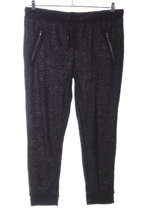 Esmara Stretch broek zwart gestippeld casual uitstraling