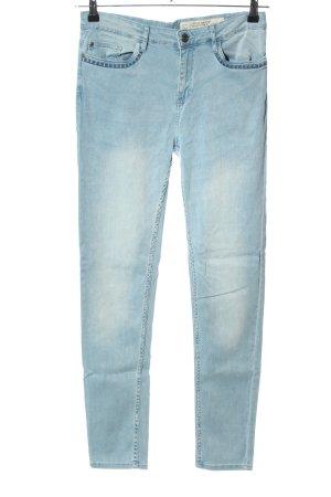 Esmara Stretchhose blau Casual-Look
