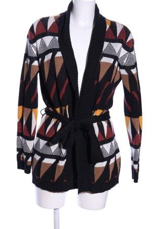 Esmara Strick Cardigan grafisches Muster Casual-Look