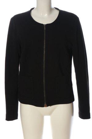 Esmara Gebreide blazer zwart gestreept patroon casual uitstraling