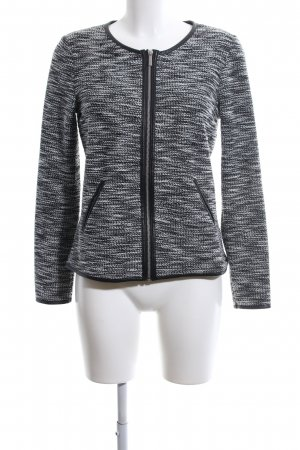 Esmara Strickjacke schwarz-weiß meliert Casual-Look