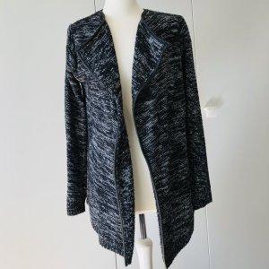 Esmara Cardigan black-white polyacrylic