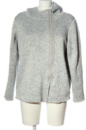 Esmara Giacca in maglia grigio chiaro puntinato stile casual