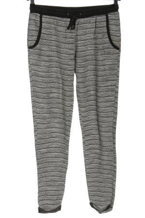 Esmara Pantalón deportivo negro-blanco moteado look casual