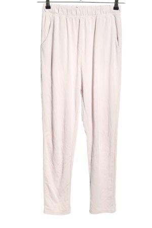 Esmara Pantalón deportivo blanco puro look casual
