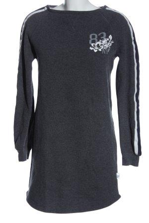 Esmara Robe Sweat gris clair imprimé avec thème style décontracté
