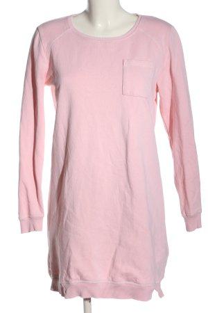 Esmara Vestido de tela de sudadera rosa look casual