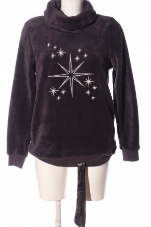 Esmara Sweatshirt hellgrau Motivdruck Casual-Look