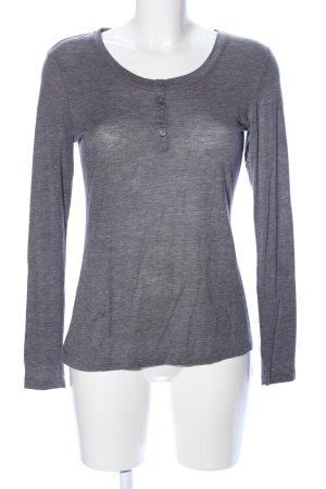 Esmara Sweatshirt lichtgrijs gestippeld casual uitstraling